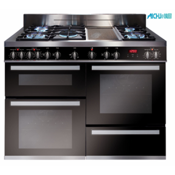 120cm Multiple Cavity Dual Fuel Range Cooker
