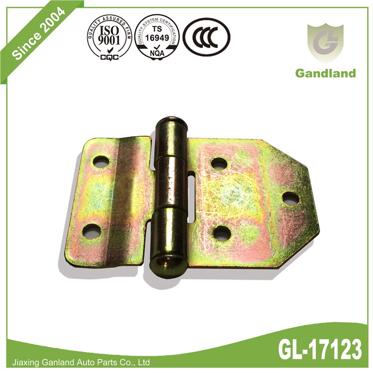color zinc plating Strap Hinge GL-17123-3