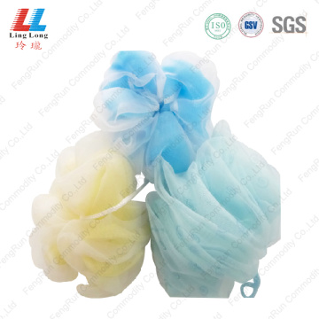 luxury shower baby sponge lace loofah bath sponge