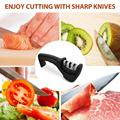 Professional 2 Stage Kitchen Knife Sharpener Tool