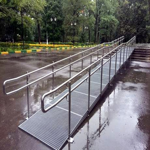 Steel Grid Ramps