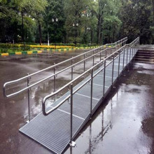 Steel Bar Grating Ramps