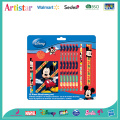 Mickey Mouse 12-piece stationery set