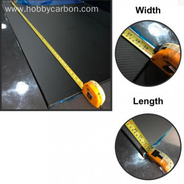 Hobbycarbon 0,5 mm 0,75 cm tykkelse carbon fiber ark ark
