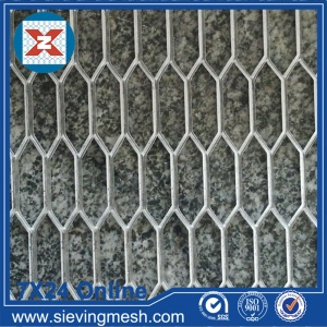 Expanded Metal Fabric Sheet