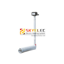 PTEF Single Tubular Spiral Heaters