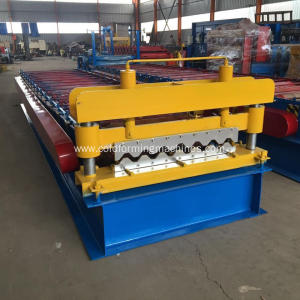 Roof panel wall steel tile roll forming machine