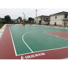 Outdoor PVC Sports Flooring Basketball floor