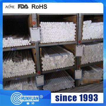 White virgin PTFE extruded rod