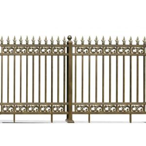 Durable Frond Aluminum Fence
