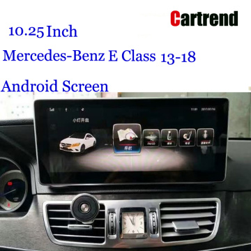 10.25 Makaranta na Android don Mercedes-Benz E Class 13-18