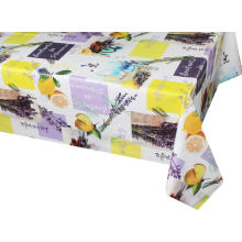 Pvc Printed fitted table Runner covers