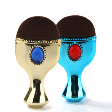 single Blue Gold individual makeup brush belt