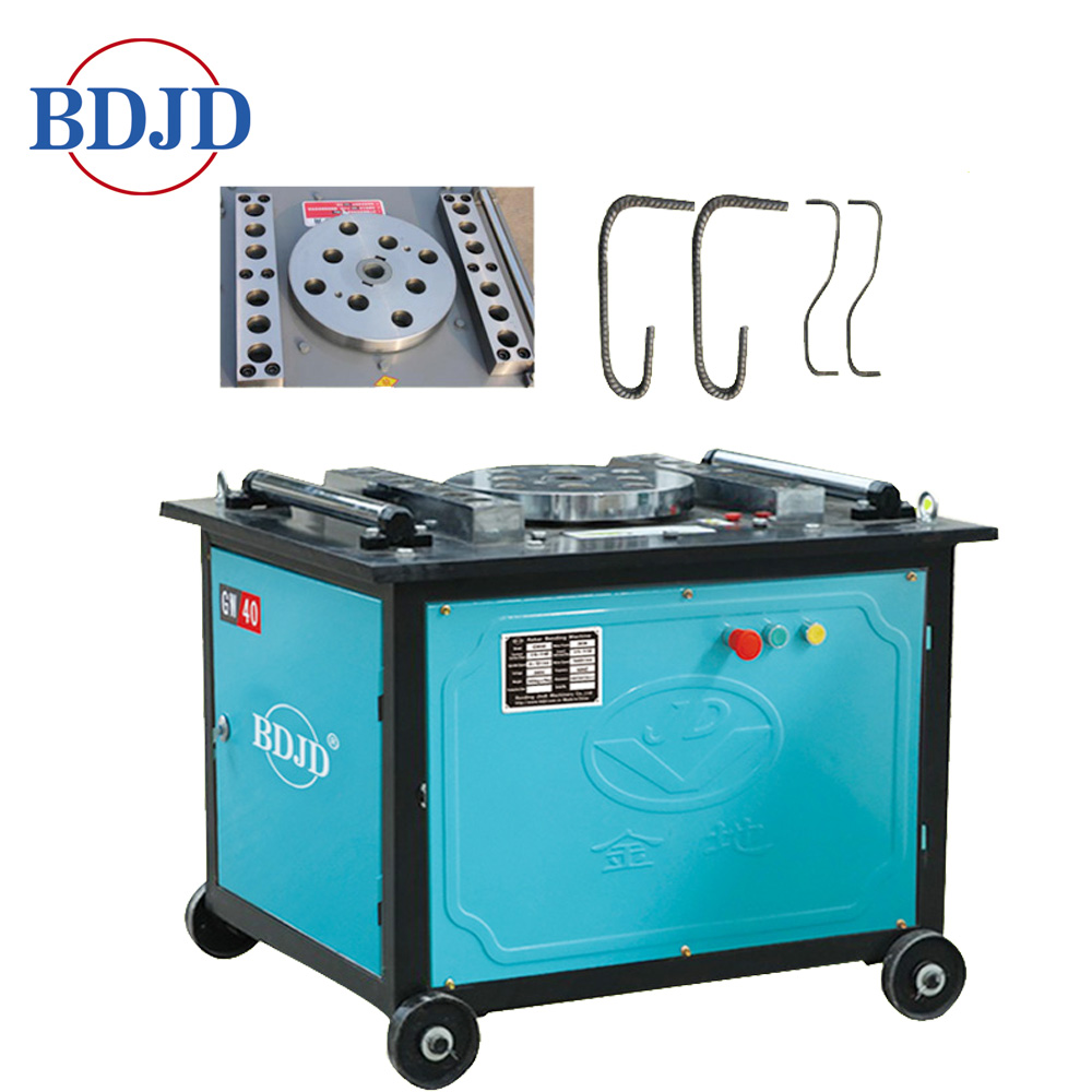 GW40/GW50 Professional Manufacture Steel Bar bending machine