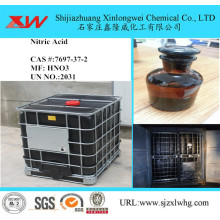 20 Years manufacturer for Sand Mining Chemical Nitric acid in black IBC drum supply to United States Suppliers