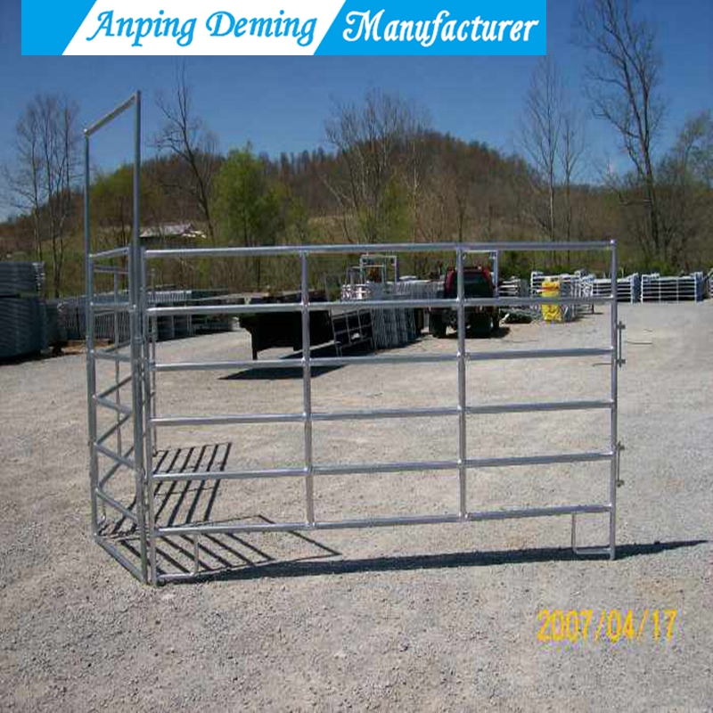 Installed Cattle Yards Cattle Horse Fence Panel
