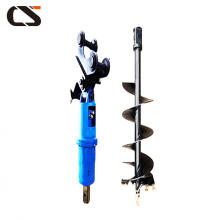 Excavator Attachment hydraulic Earth Drill