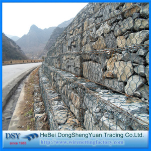 Strong Hill Slope Gabion Wire Mesh Boxes