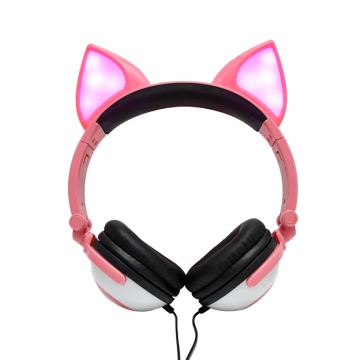 Blingbling Animal Cosplay Over Ear Wired Headphone