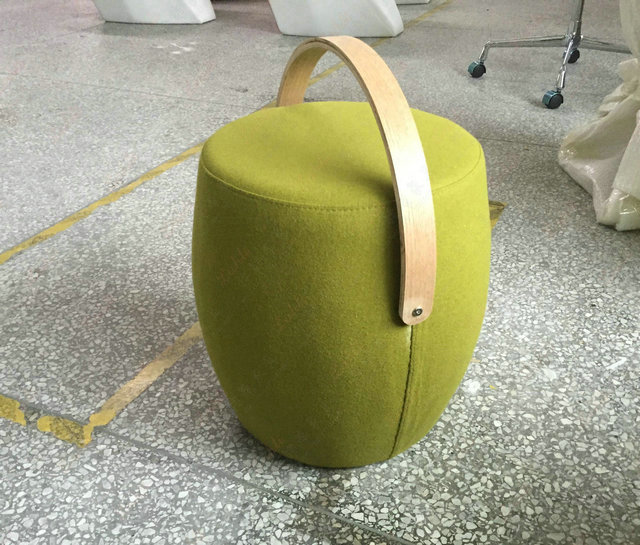 Fabric foot stool