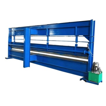 Hydraulic manual sheet metal 6m bending machine