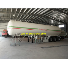 54000 Litres 23ton Used Propane Tanker Trailers