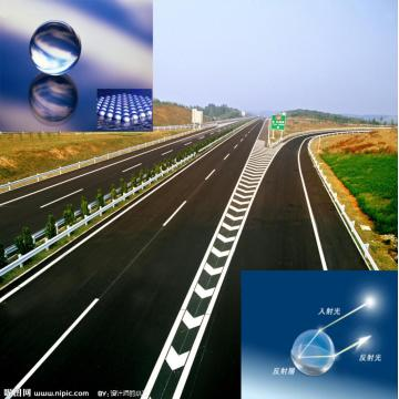 Contas de vidro para Mark Road Traffic Lines