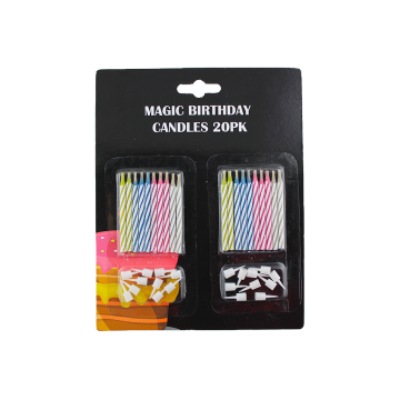 Wholesale cheap  color Spiral Candle