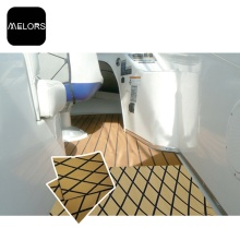 Melors EVA Marine Diamond Sheet Faux Teak Pads