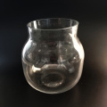 Clear Glass Vase Handmade Vase Set Of 3