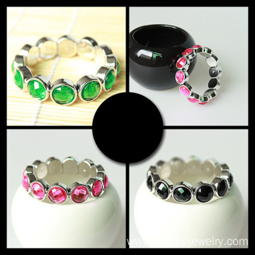 Rhinestone Acrylic Stretch Crystal Bracelet Costume Jewelry