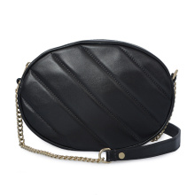 Lamb Skin Soft Leather Crossbody Sling Chain Bags