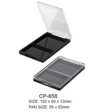 Empty Square Cosmetic Eyeshadow  with Clear Lid