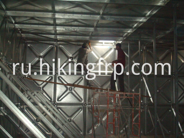 Corrosion Resistance HDG Steel Tank