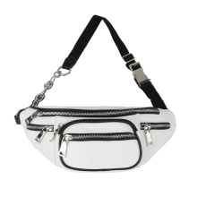 Fashion Women Leather Fanny Packs Shoulder Waist Bag