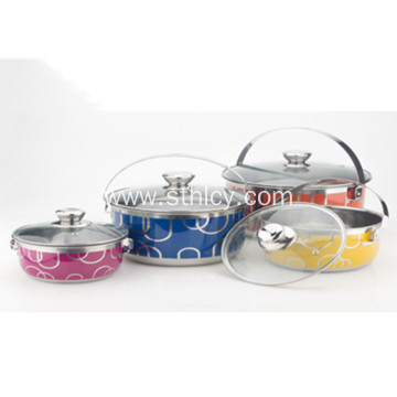 Hindi kinakalawang na Steel Pot Cookware Set Wholesale