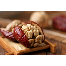 Red dates with walnut kernels jujube