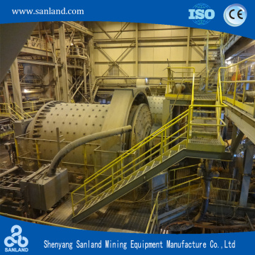 Wet Grate Type Ball Mill