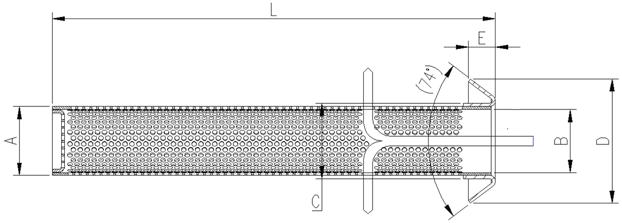 safety screen element
