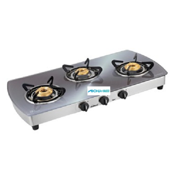 Sunflame Cooktop 3 High Efficiency Brass Burners