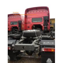 red double sleepers tractor truck
