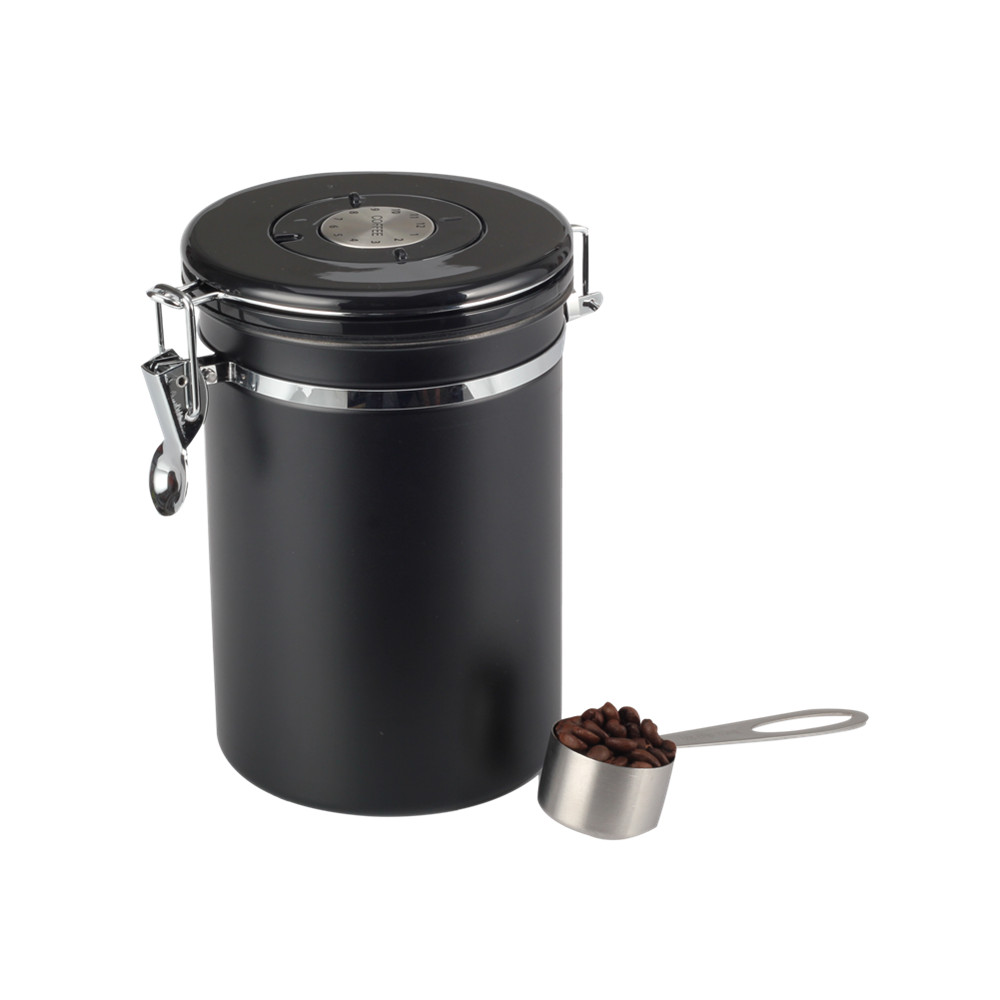 Coffee Container Black Coffee Canister