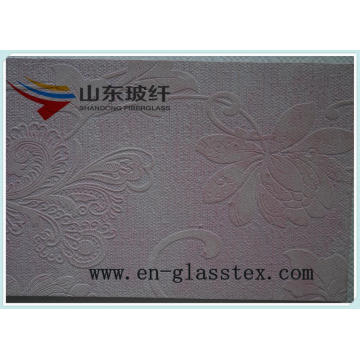 Classical wall covering of fiberglass
