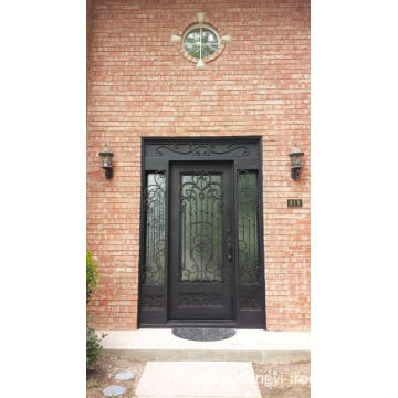 Operable Glass Iron Single Doors