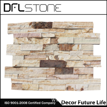 China Gold Supplier for Natural Stone Veneer Natural Rough Face Ledgerstone Systems for Outside Wall supply to France Manufacturers