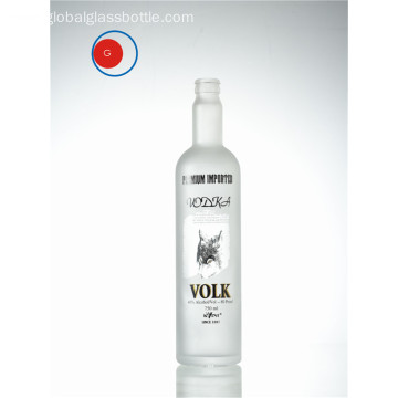 Standard Shape Glass Vodka Bottle
