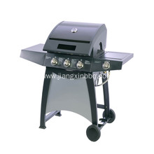 3 Burners Gas Grill With Side Burner