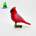 Christmas Hanging Glass Bird Ornament for Sale
