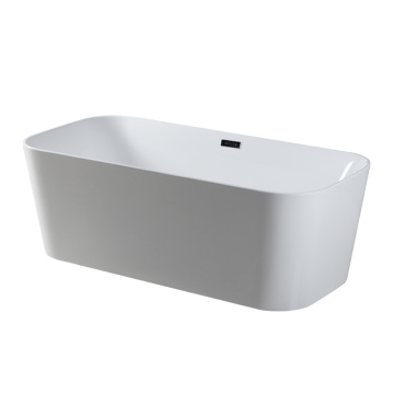 Modern Rectangular Freestanding Bathtub