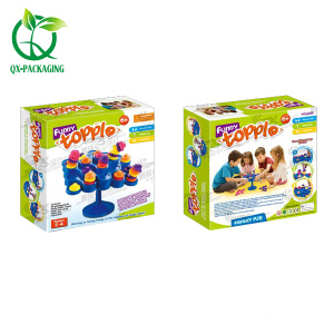 Custom child education toy cardboard box packaging